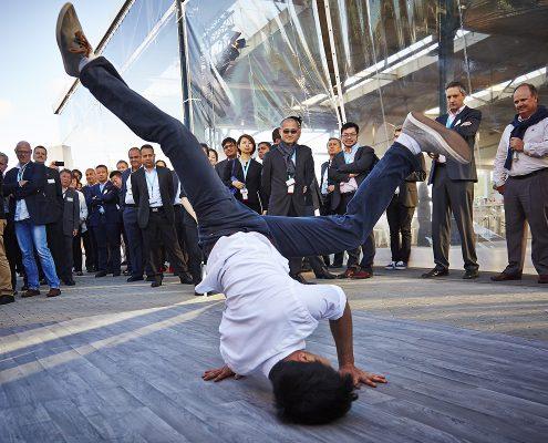 Breakdance Show buchen